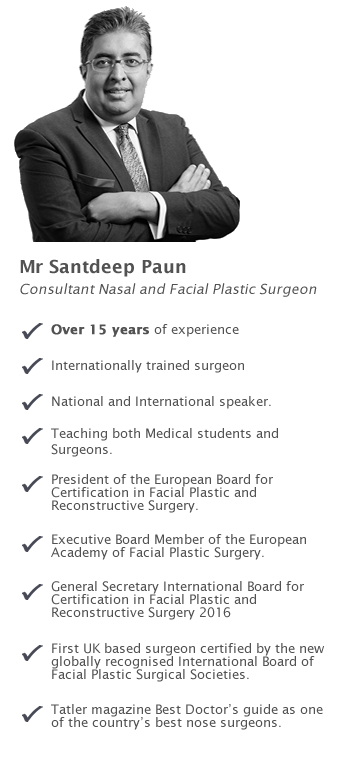 Rhinoplasty and Facial Aesthetic Surgery Specialist in London